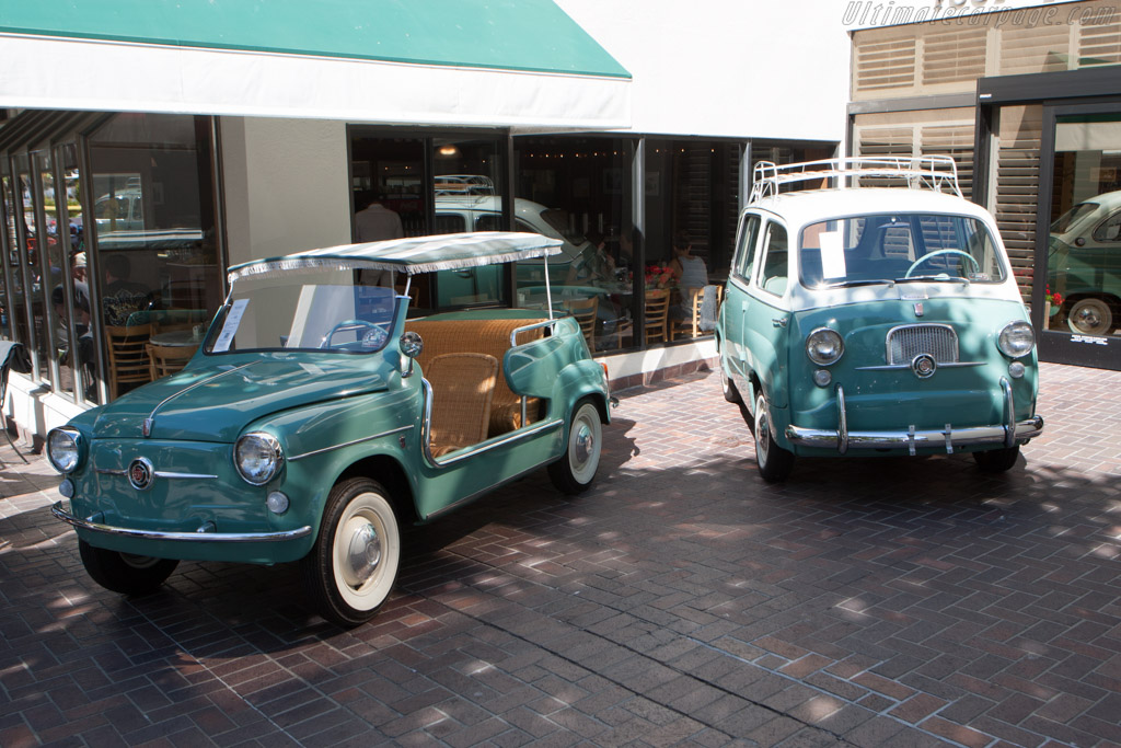 Fiat Mutipla & Jolly    - 2014 Monterey Auctions