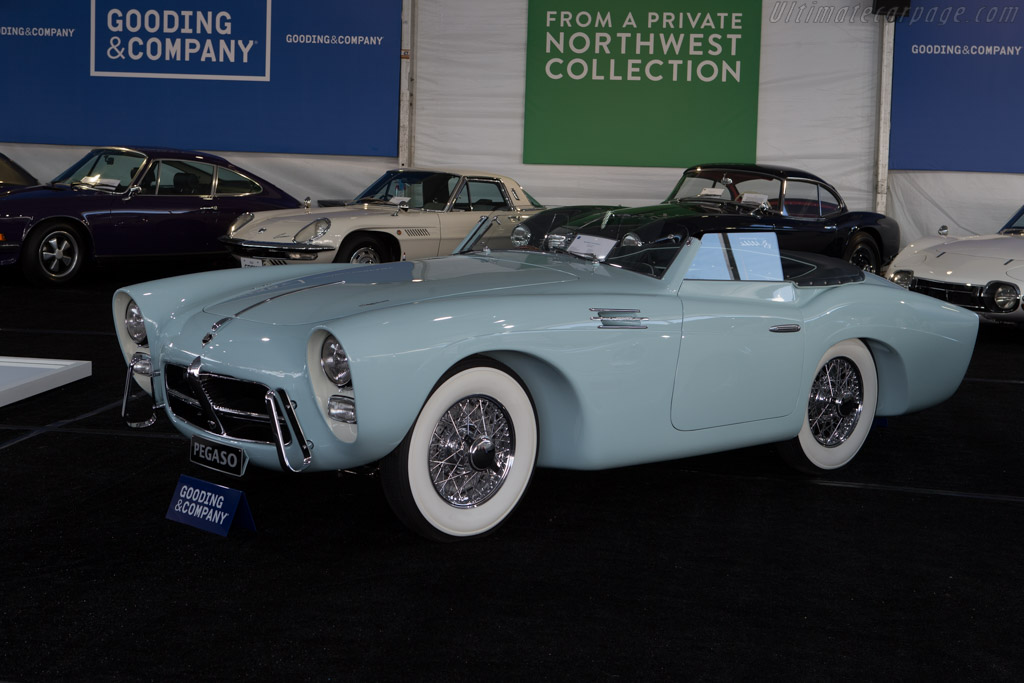 Pegaso Z102 Saoutchik Roadster - Chassis: 0102.153.0136   - 2014 Monterey Auctions