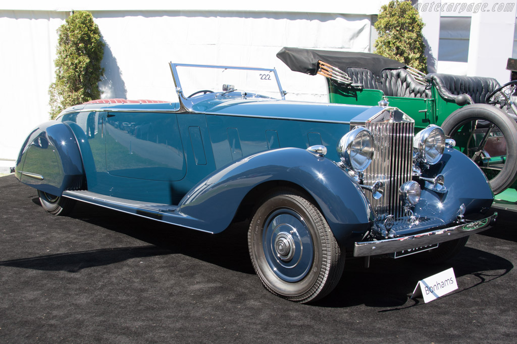 Rolls-Royce Phantom III Thrupp & Maberly - Chassis: 3BU86   - 2014 Monterey Auctions