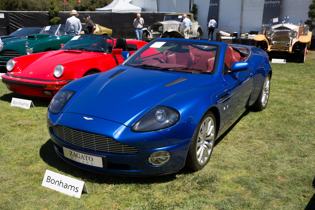 Aston Vanquish Zagato Roadster - Chassis: SCFAC13391B50PP19   - 2015 Monterey Auctions