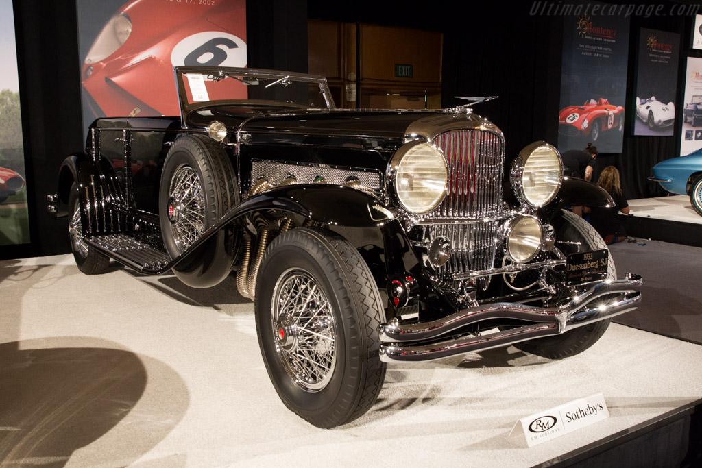 Duesenberg SJ Brunn Riviera Phaeton    - 2015 Monterey Auctions