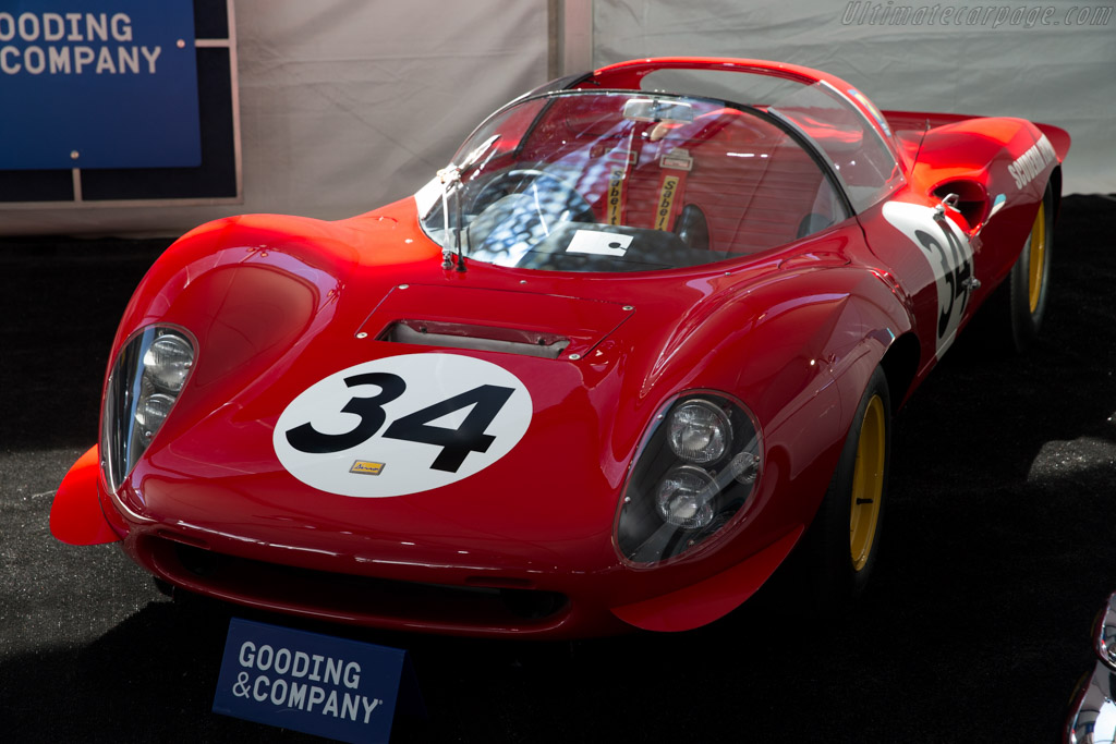 Ferrari 206 Dino S - Chassis: 026   - 2015 Monterey Auctions