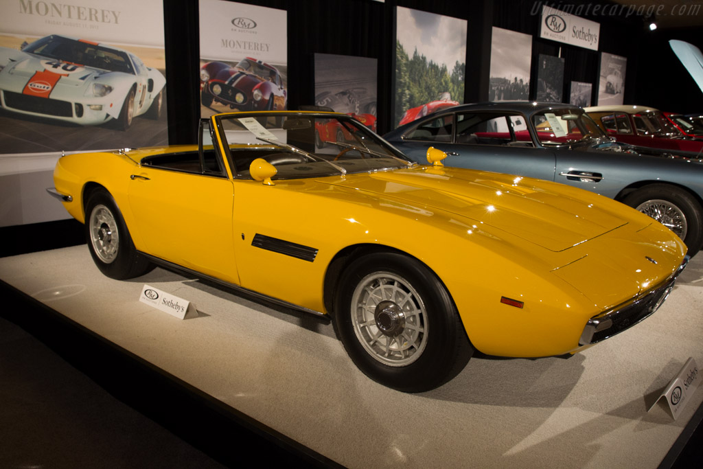 Maserati Ghibli Spider - Chassis: AM115/S 1001   - 2015 Monterey Auctions