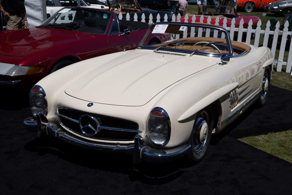 Mercedes benz 300 sl roadster chassis for 2015 mercedes benz sl