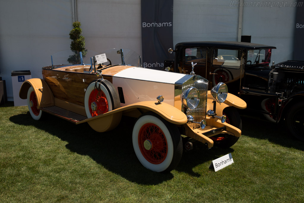 Rolls-Royce Phantom II Boattail Reconstruction - Chassis: 100MS   - 2015 Monterey Auctions