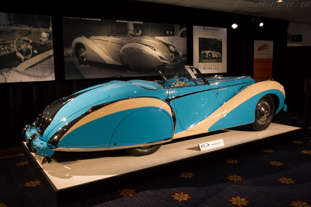 Talbot Lago T26 GS Saoutchik Cabriolet - Chassis: 110110   - 2015 Monterey Auctions