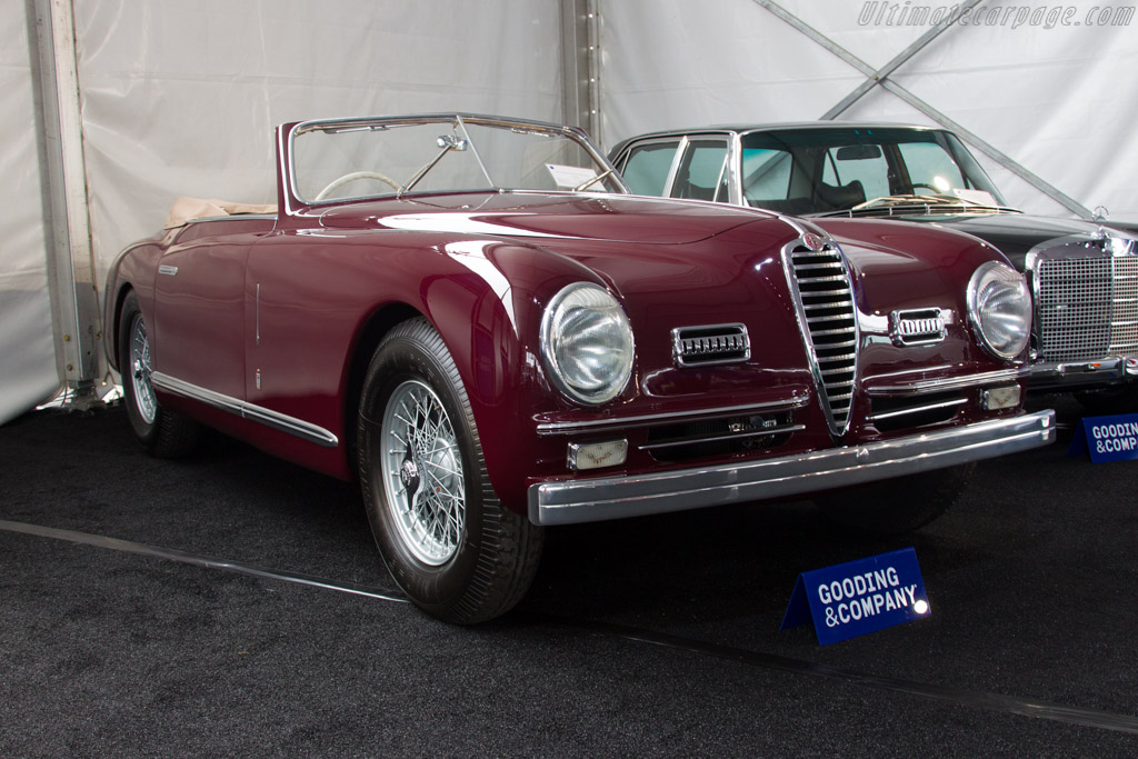 Alfa Romeo 6C 2500 SS Pinin Farina Cabriolet - Chassis: 915922   - 2016 Monterey Auctions