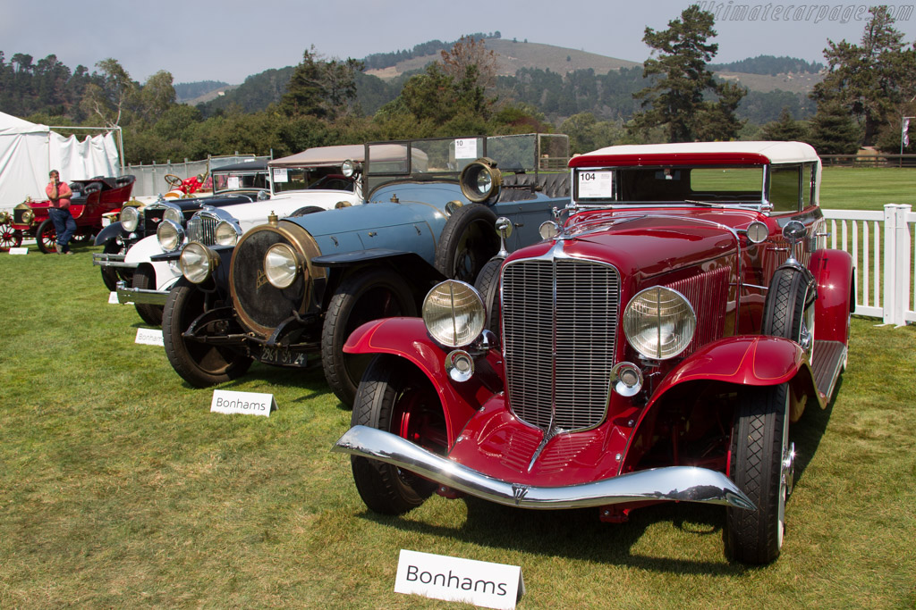 Auburn 12-161A Salon Phaeton - Chassis: 2156 H   - 2016 Monterey Auctions