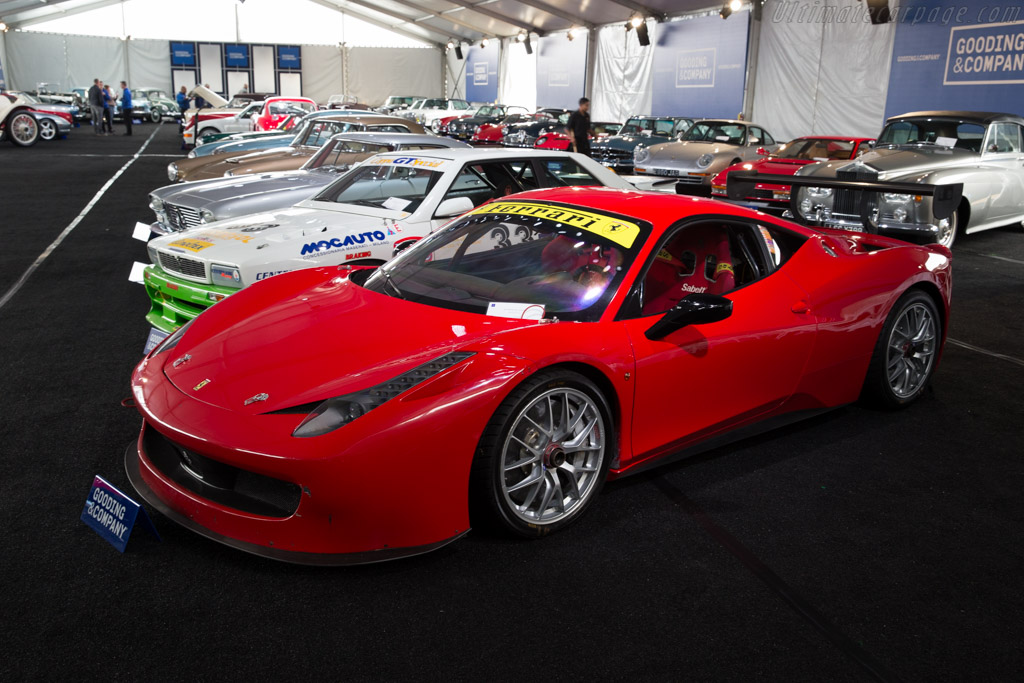 ferrari 458 challenge chassis 179225 2016 monterey auctions. Black Bedroom Furniture Sets. Home Design Ideas