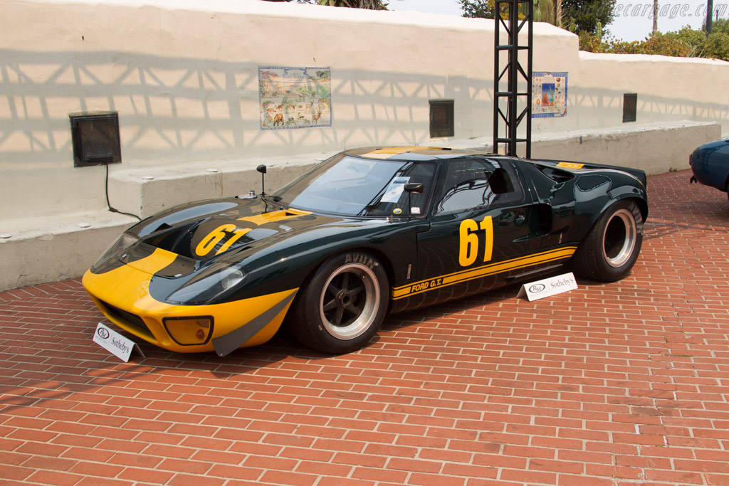 Ford Gt40 Chassis Gt40p 1061 2016 Monterey Auctions