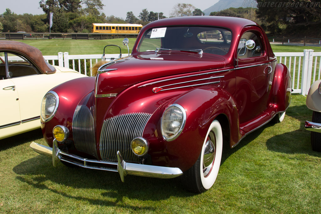Lincoln Zephyr Coupe - Chassis: H66822   - 2016 Monterey Auctions