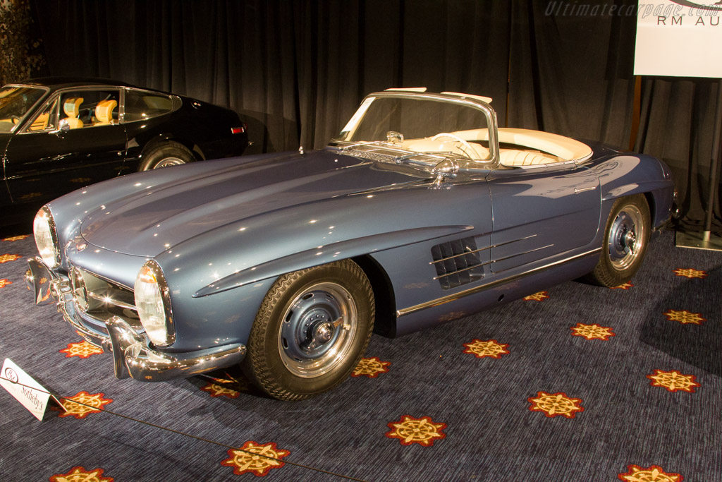 Mercedes benz 300 sl roadster chassis for Mercedes benz monterey