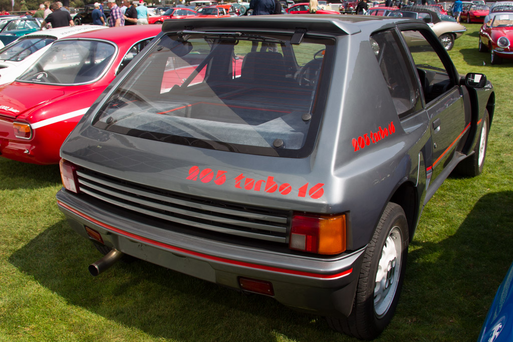 Peugeot 205 Turbo 16 - Chassis: VF3741R76E55100189   - 2016 Monterey Auctions