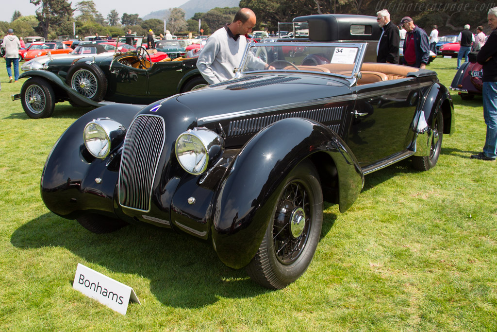 Talbot Lago T23 Figoni & Falaschi Roadster - Chassis: 93123   - 2016 Monterey Auctions