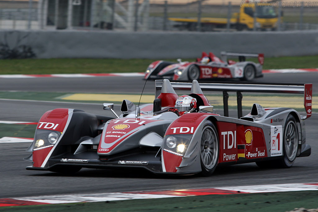 Audi R10 - Chassis: 204 - Entrant: Audi Sport Team Joest - Driver: Allan McNish / Rinaldo Capello  - 2008 Le Mans Series Catalunya 1000 km