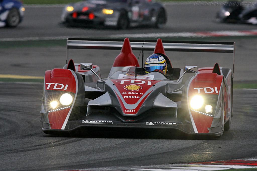 Audi R10 - Chassis: 301 - Entrant: Audi Sport Team Joest - Driver: Alexandre Premat / Mike Rockenfeller  - 2008 Le Mans Series Catalunya 1000 km