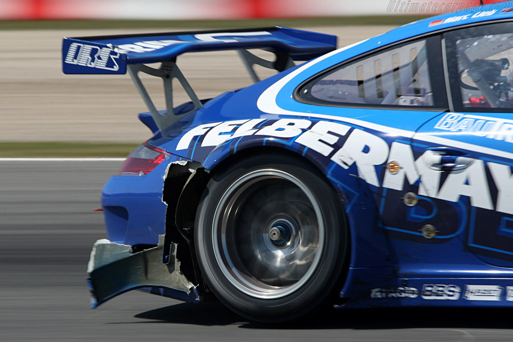 Battle damage - Chassis: WP0ZZZ99Z8S799922   - 2008 Le Mans Series Catalunya 1000 km