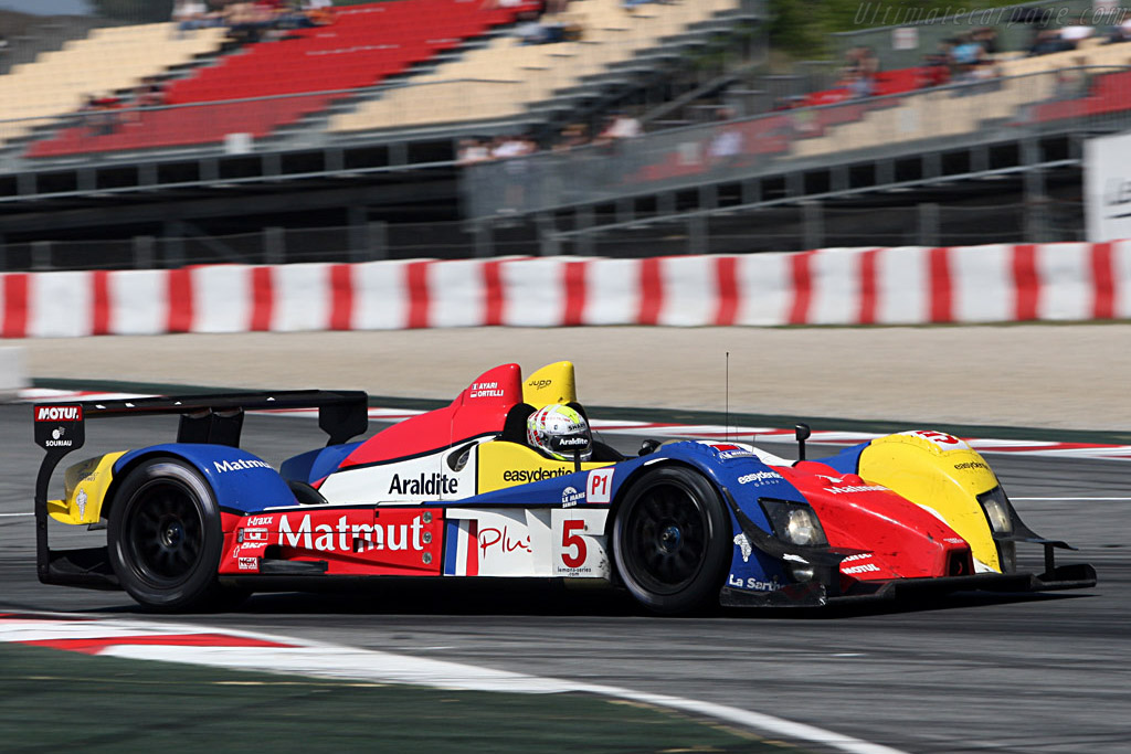 Courage-Oreca LC70 Judd - Chassis: LC70-03 - Entrant: Team Oreca Matmut - Driver: Stephane Ortelli Soheil Ayari  - 2008 Le Mans Series Catalunya 1000 km
