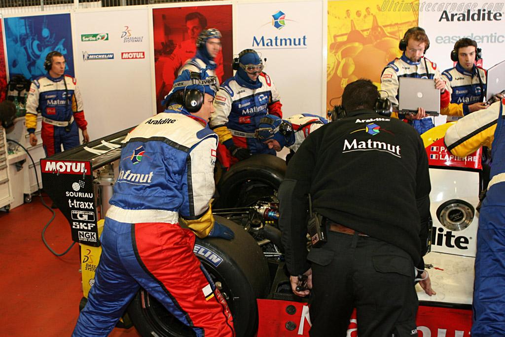 Courage-Oreca LC70 Judd - Chassis: LC70-10 - Entrant: Team Oreca Matmut - Driver: Olivier Panis / Nicolas Lapierre  - 2008 Le Mans Series Catalunya 1000 km