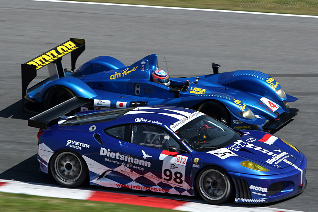 Creation CA07 AIM - Chassis: CA07-001 - Entrant: Creation Autosportif - Driver: Jamie Campbell-Walter / Felipe Ortiz / Stuart Hall  - 2008 Le Mans Series Catalunya 1000 km