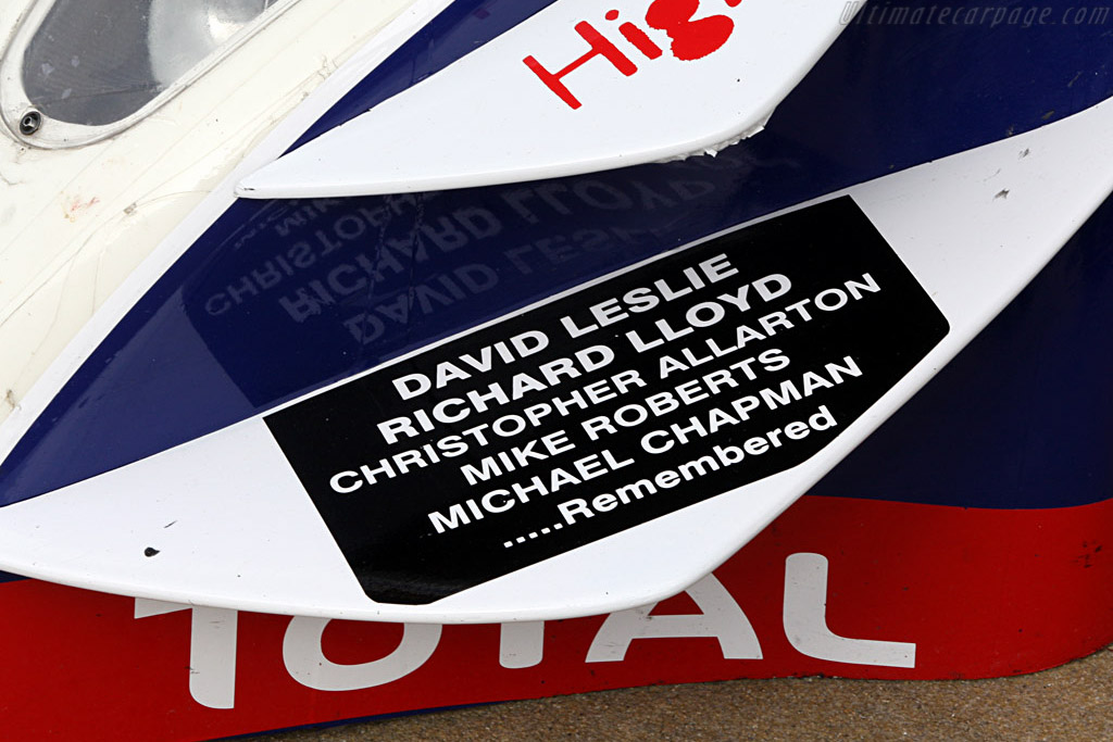 David Leslie and Richard Lloyd remembered    - 2008 Le Mans Series Catalunya 1000 km