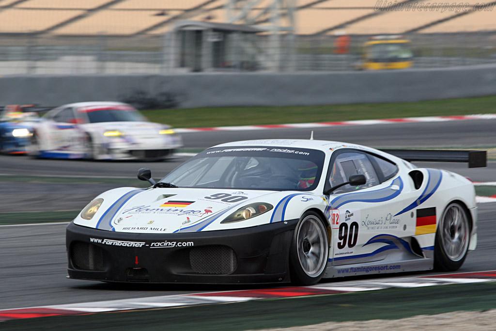 Ferrari F430 GTC - Chassis: 2612 - Entrant: Farnbacher Racing - Driver: Pierre Ehret / Pierre Kaffer / Anthony Beltoise  - 2008 Le Mans Series Catalunya 1000 km