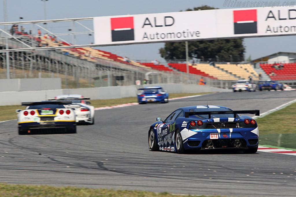 Ferrari F430 GTC - Chassis: 2466 - Entrant: JMB Racing - Driver: Ben Aucott / Stephane Daoudi  - 2008 Le Mans Series Catalunya 1000 km
