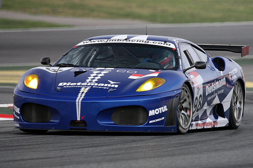 Ferrari F430 GTC - Chassis: 2450 - Entrant: JMB Racing - Driver: Ben Aucott / Stephane Daoudi  - 2008 Le Mans Series Catalunya 1000 km