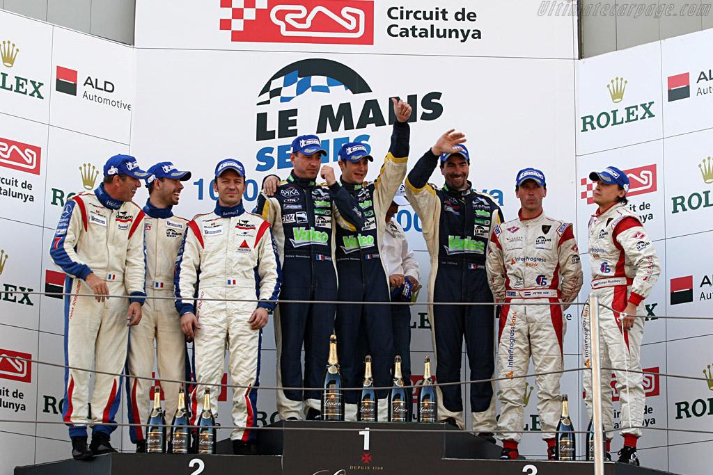GT1 Podium    - 2008 Le Mans Series Catalunya 1000 km