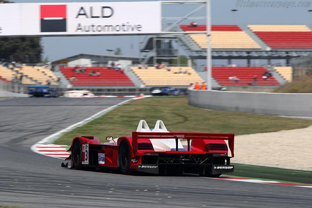 Lavaggi LS1 AER - Chassis: 1 - Entrant: Scuderia Lavaggi - Driver: Giovanni Lavaggi / Wolfgang Kaufmann  - 2008 Le Mans Series Catalunya 1000 km