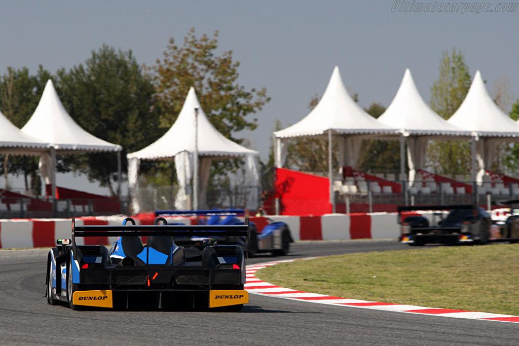 Lola B05/40 AER - Chassis: B0540-HU01 - Entrant: Team Quiffel ASM - Driver: Miguel Amaral / Olivier Pla  - 2008 Le Mans Series Catalunya 1000 km