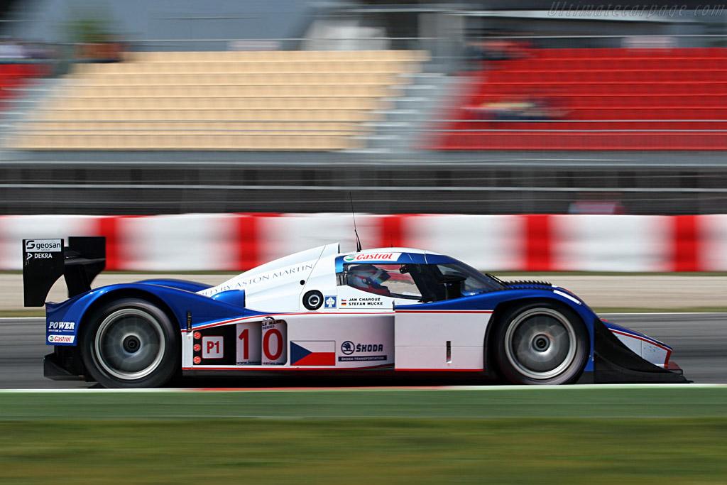 Lola B08/60 Aston Martin - Chassis: B0860-HU01 - Entrant: Charouz Racing System - Driver: Jan Charouz / Stefan Mucke  - 2008 Le Mans Series Catalunya 1000 km