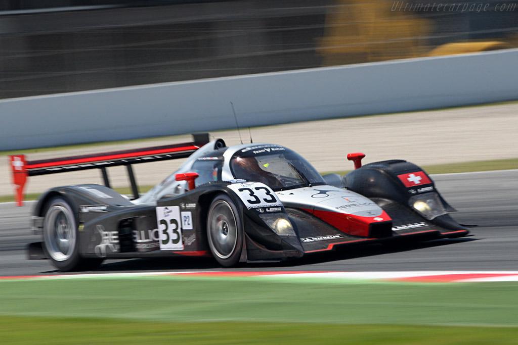 Lola B08/80 Judd - Chassis: B0880-HU01 - Entrant: Speedy Racing Team Sebah - Driver: Xavier Pompidou, Andrea Belicchi, Steve Zacchia  - 2008 Le Mans Series Catalunya 1000 km