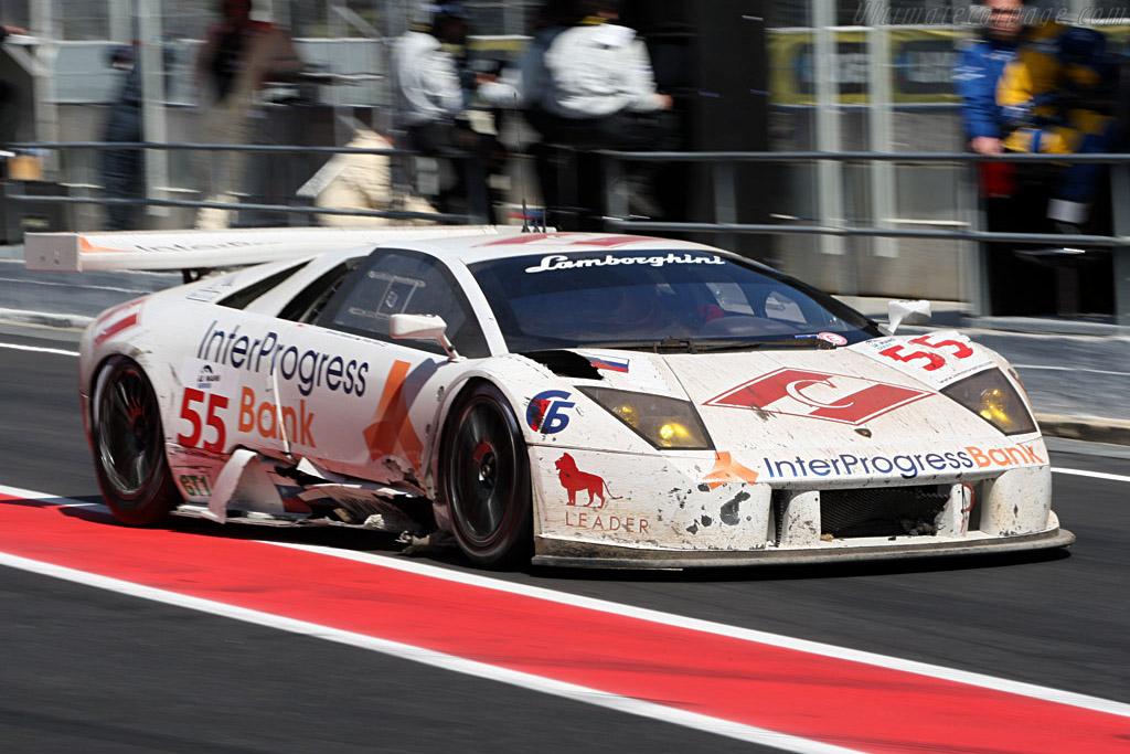 More Battle Damage - Chassis: LA01064   - 2008 Le Mans Series Catalunya 1000 km