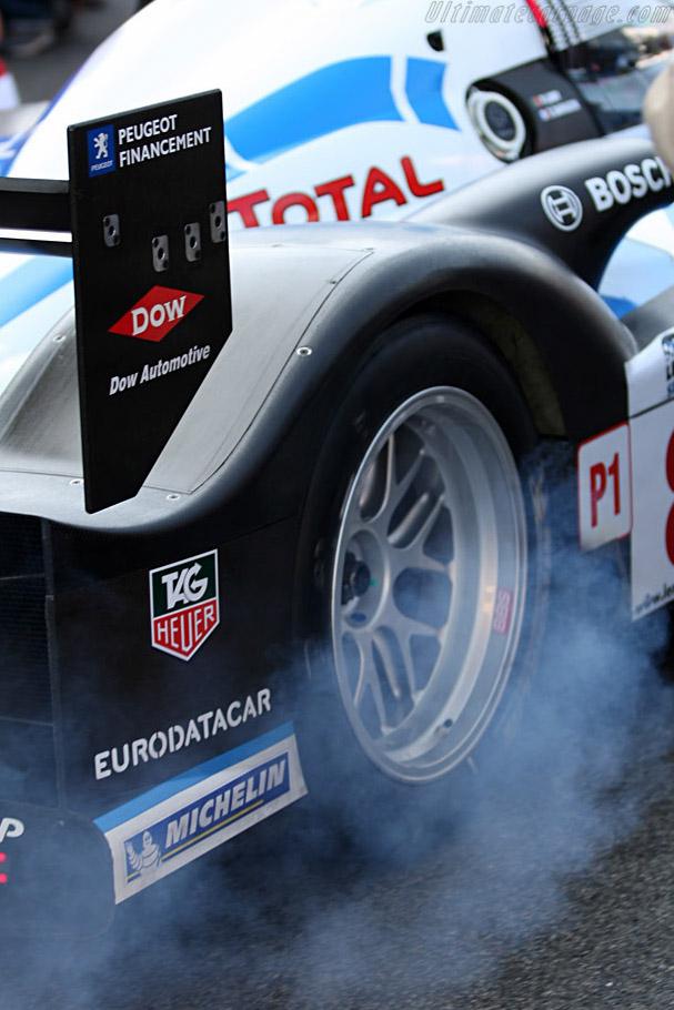 No visible smoke ?    - 2008 Le Mans Series Catalunya 1000 km