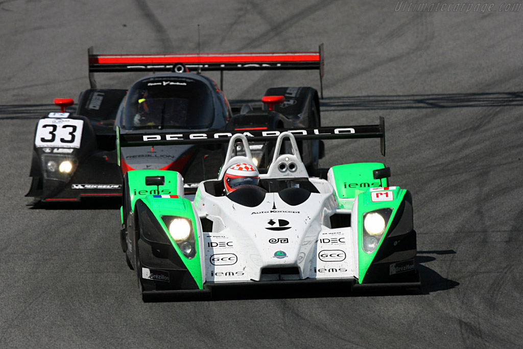 Pescarolo 01 Judd - Chassis: 01-05 - Entrant: Saulnier Racing - Driver: Jacques Nicolet / Marc Faggionato / Richard Hein  - 2008 Le Mans Series Catalunya 1000 km