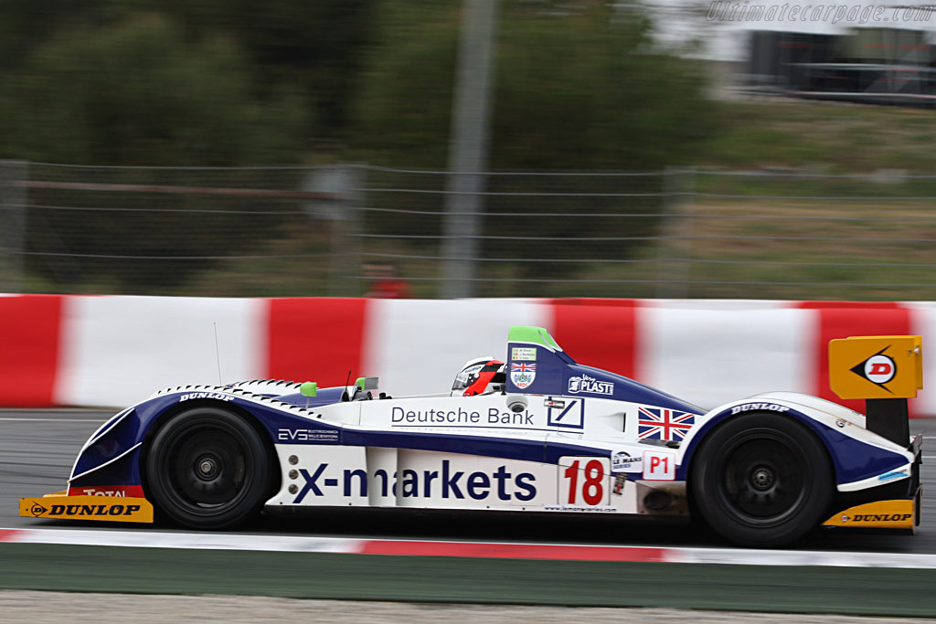Pescarolo 01 Judd - Chassis: 01-04 - Entrant: Rollcentre Racing - Driver: Joao Barbosa / Martin Short / Vanina Ickx  - 2008 Le Mans Series Catalunya 1000 km