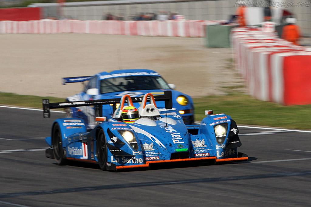 Pescarolo 01 Judd - Chassis: 01-07 - Entrant: Pescarolo Sport - Driver: Christophe Tinseau / Harold Primat  - 2008 Le Mans Series Catalunya 1000 km