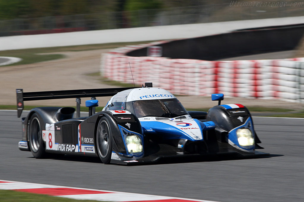 Peugeot 908 HDI FAP - Chassis: 908-03 - Entrant: Team Peugeot Total - Driver: Pedro Lamy / Stephane Sarrazin  - 2008 Le Mans Series Catalunya 1000 km