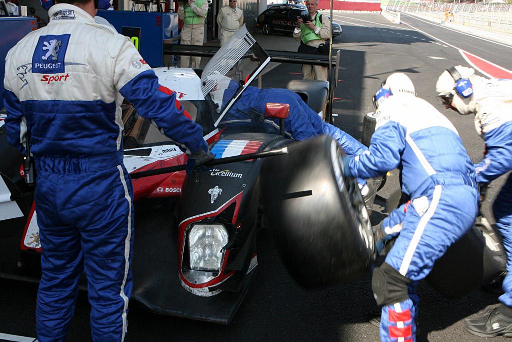 Peugeot 908 HDI FAP - Chassis: 908-02 - Entrant: Team Peugeot Total - Driver: Marc Gene / Nic Minassian  - 2008 Le Mans Series Catalunya 1000 km