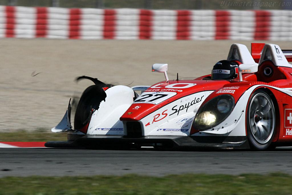 Porsche RS Spyder - Chassis: 9R6 707   - 2008 Le Mans Series Catalunya 1000 km