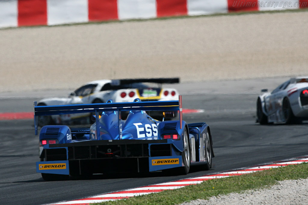Porsche RS Spyder - Chassis: 9R6 709 - Entrant: Team Essex - Driver: John Nielsen / Casper Elgaard  - 2008 Le Mans Series Catalunya 1000 km