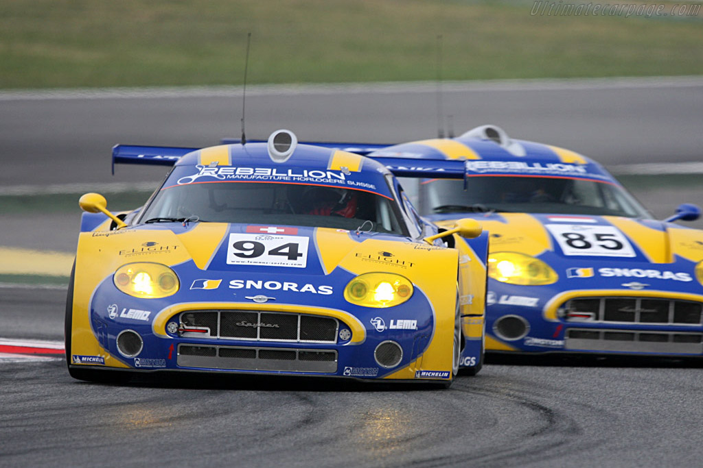 Spyker C8 Laviolette GT2-R - Chassis: XL9AB01G57Z363191   - 2008 Le Mans Series Catalunya 1000 km