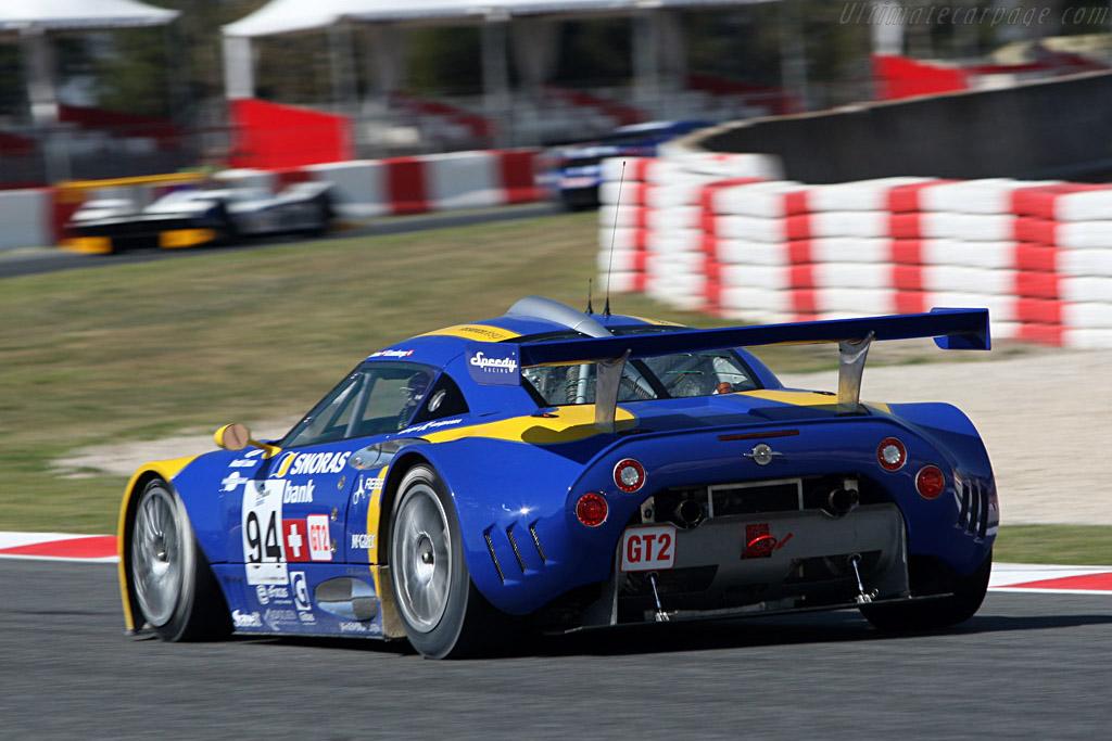 Spyker C8 Laviolette GT2-R - Chassis: XL9AB01G37Z363190   - 2008 Le Mans Series Catalunya 1000 km