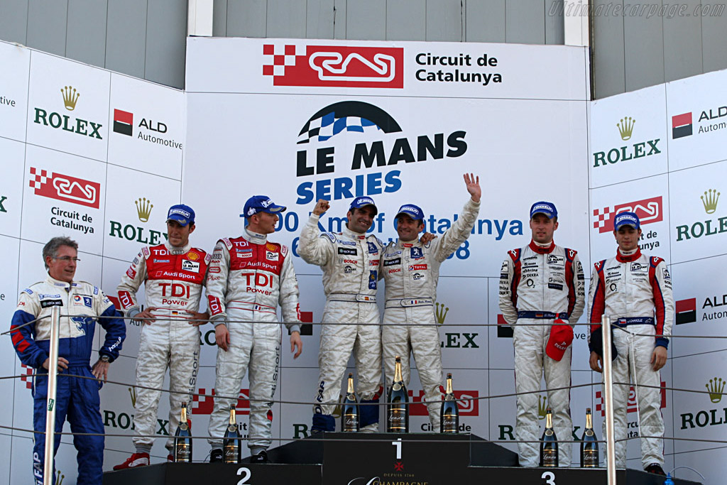 The winners    - 2008 Le Mans Series Catalunya 1000 km