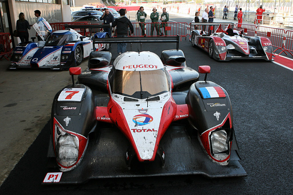 The winning machines - Chassis: 908-02 - Entrant: Team Peugeot Total - Driver: Marc Gene / Nic Minassian  - 2008 Le Mans Series Catalunya 1000 km