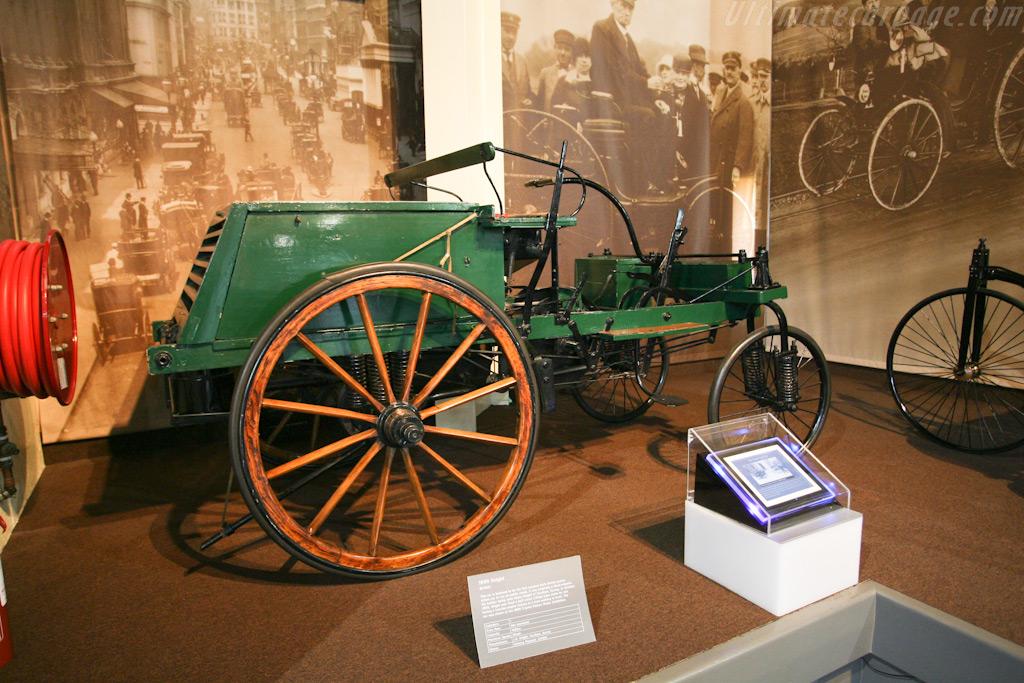 1895 Knight    - British National Motor Museum Visit
