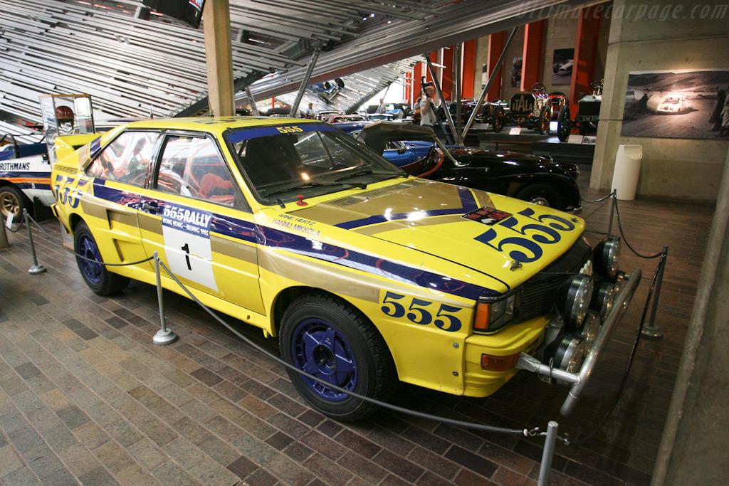 Audi Quattro A2 British National Motor Museum Visit