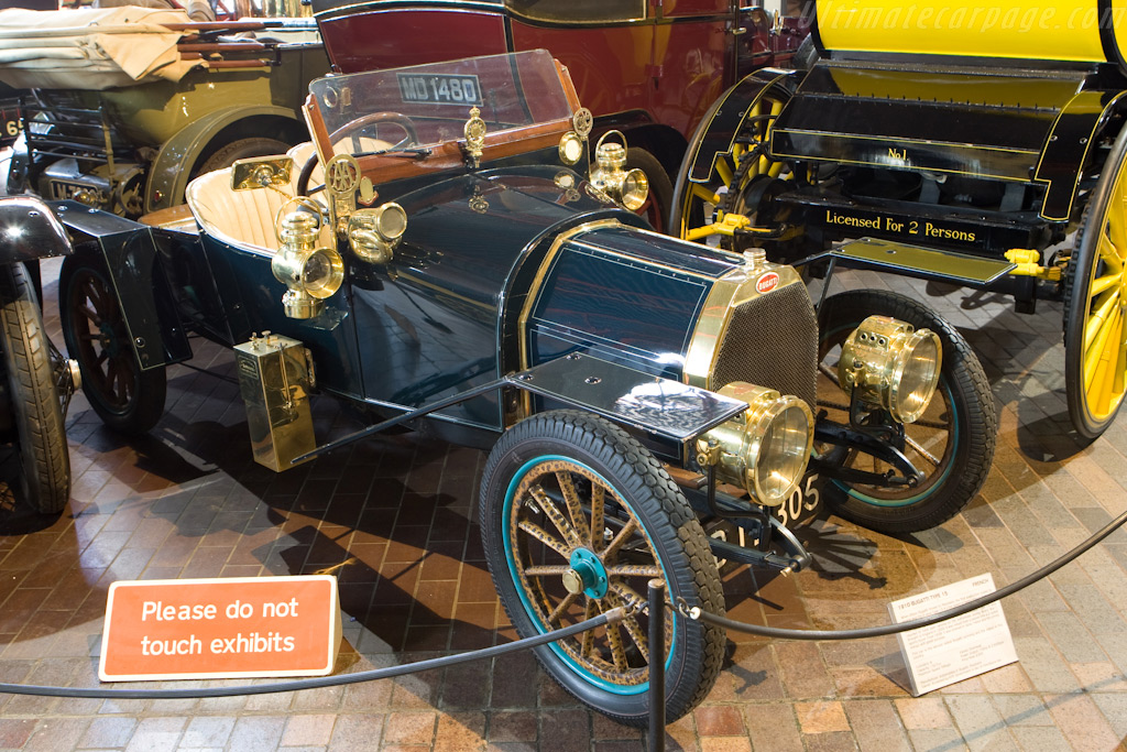 Bugatti Type 15 - Chassis: 366   - British National Motor Museum Visit