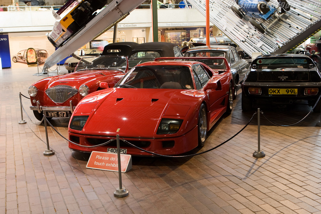 Ferrari F40    - British National Motor Museum Visit